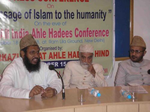 Press conference